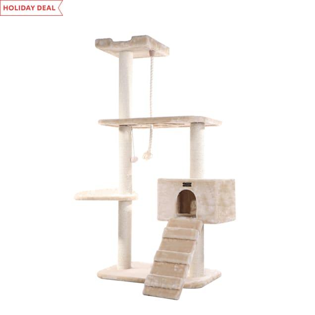 "Armarkat Classic Cat Tree, 58"" H - Carousel image #1"