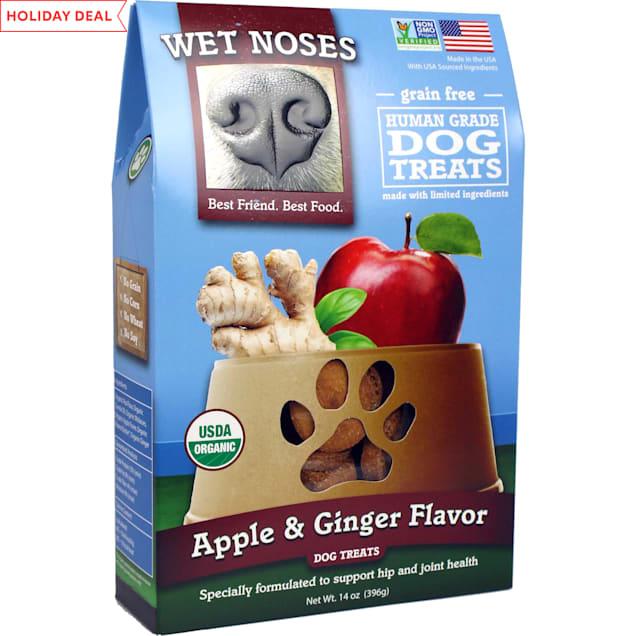 Wet Noses Grain Free Apple & Ginger Dog Treats, 14 oz. - Carousel image #1