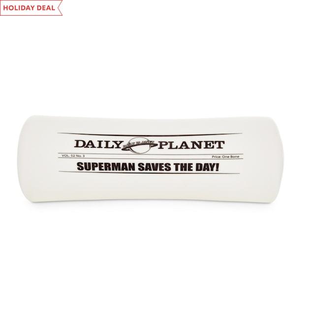 DC Comics Justice League Daily Planet Vinyl Dog Toy, Medium - Carousel image #1