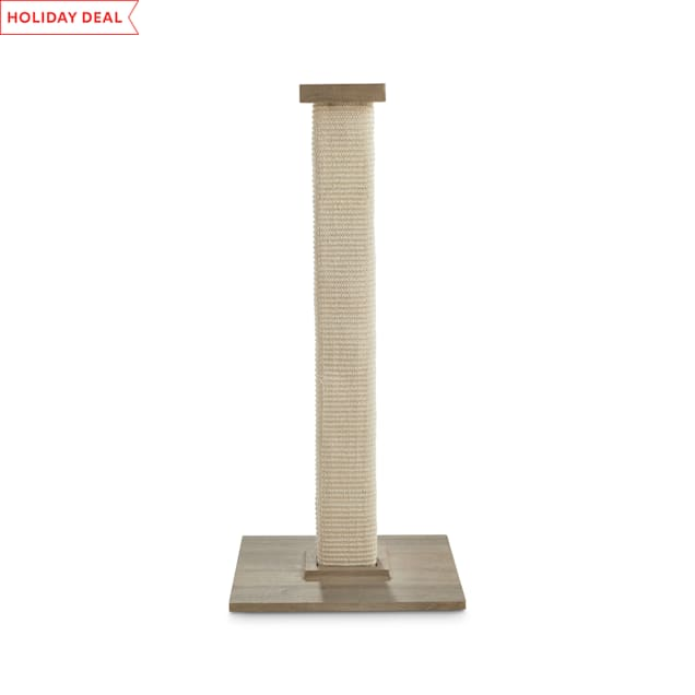 "Animaze Tall Square Cat Scratching Post, 31.5"" H - Carousel image #1"