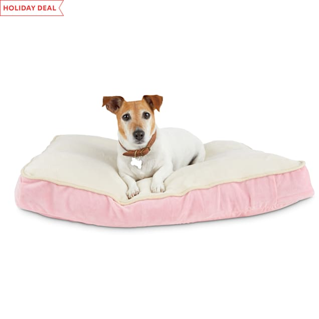 "Animaze Pink Lounger Dog Bed, 32"" L X 24"" W X 3.5"" H - Carousel image #1"