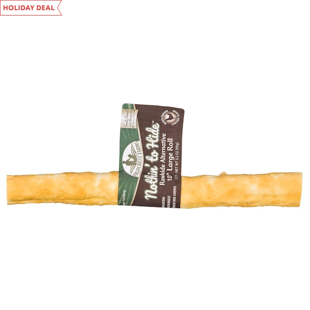 Fieldcrest Farms Nothin' to Hide Chicken Roll Dog Chew, 3.2 oz. - Carousel image #1