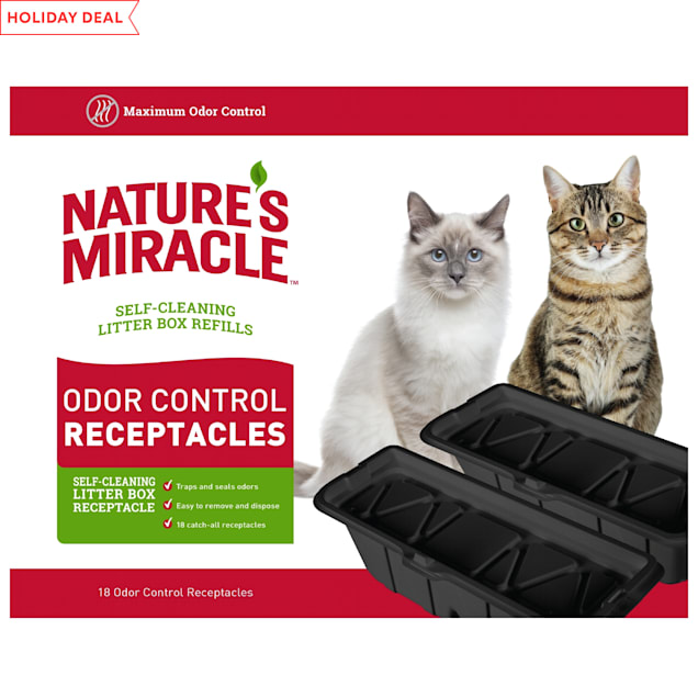 Nature's Miracle Pet Odor Control Receptacles, Large/X-Large, Count of 18 - Carousel image #1
