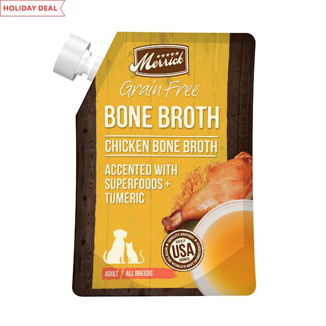 Merrick Grain Free Chicken Bone Broth Wet Dog Food, 16 oz. - Carousel image #1