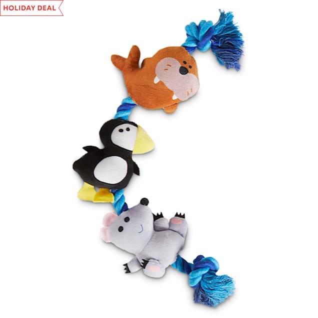 Elf North Pole Pals Plush & Rope Dog Toy, Large - Carousel image #1