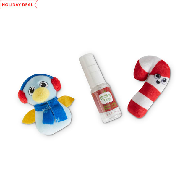 Holiday Tails Penguin's Holiday Adventures Cat Toys with Catnip - Carousel image #1