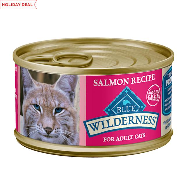 Blue Buffalo Blue Wilderness Salmon Recipe Wet Cat Food, 3 oz. - Carousel image #1