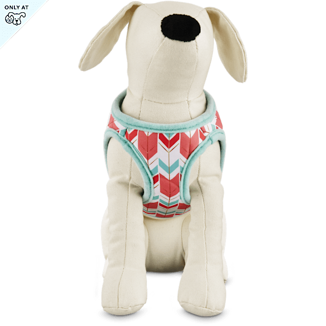 Bond & Co. Gold Chevron Harness for Small Dogs, XS - Carousel image #1