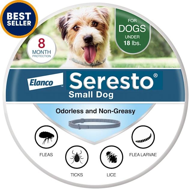 Seresto Flea and Tick Collar for Small Dogs - Carousel image #1