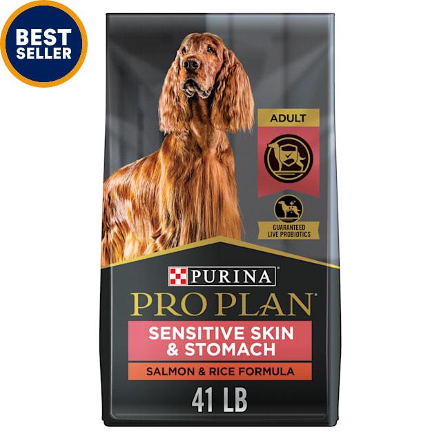 Purina Pro Plan High Protein, Sensitive Skin & Stomach Salmon & Rice Formula Dry Dog Food, 41 lbs. - Carousel image #1
