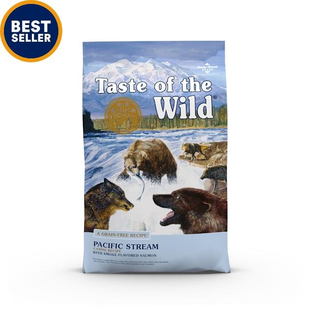 Taste of the Wild Pacific Stream Grain-Free Smoked Salmon Dry Dog Food, 28 lbs. - Carousel image #1