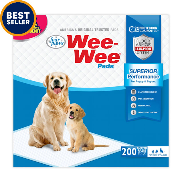 Wee-Wee Pads, 200 Count - Carousel image #1