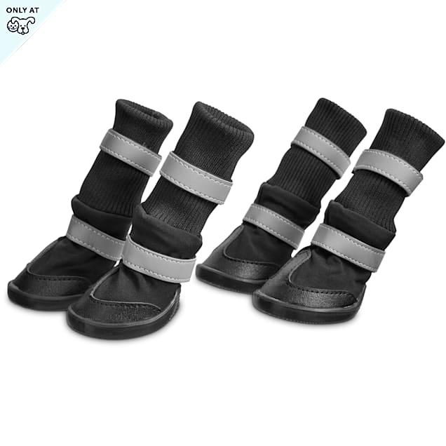 Good2GO Black Cold Weather Dog Boots, Medium - Carousel image #1