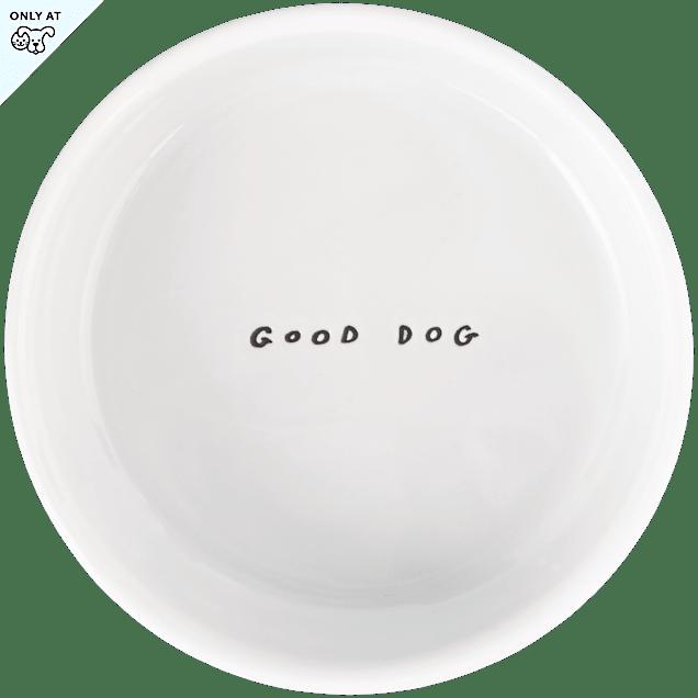 Harmony Good Dog Ceramic Dog Bowl, 1 Cup. - Carousel image #1