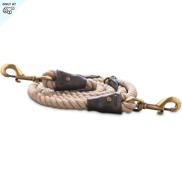 Bond & Co. Natural Rope Dog Leash, 6 ft. - Carousel image #1