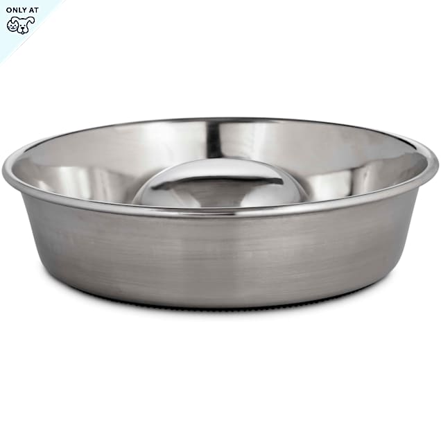 Harmony Stainless Steel Slow Feeder, 3.5 Cups - Carousel image #1