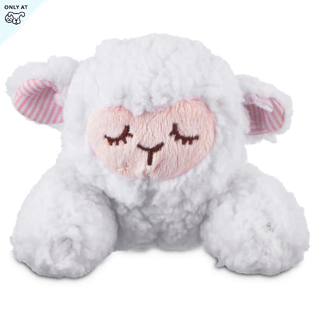 Leaps & Bounds Little Loves Lamb Plush Puppy Toy, Small - Carousel image #1