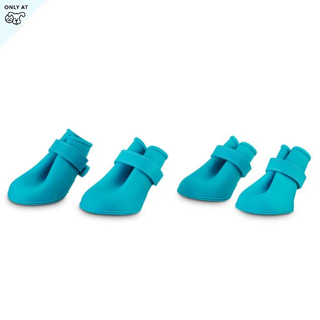 Good2Go Blue Silicone Dog Boots, X-Large - Carousel image #1