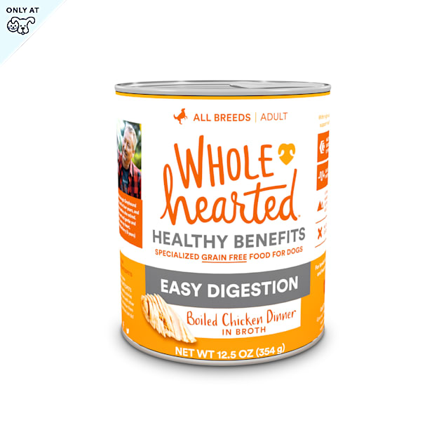 WholeHearted Grain-Free Adult Boiled Chicken Dinner Wet Dog Food, 12.5 oz., Case of 8 - Carousel image #1
