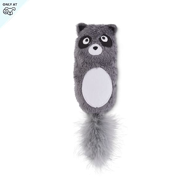 Leaps & Bounds Pounce & Play Raccoon Kicker Cat Toy - Carousel image #1