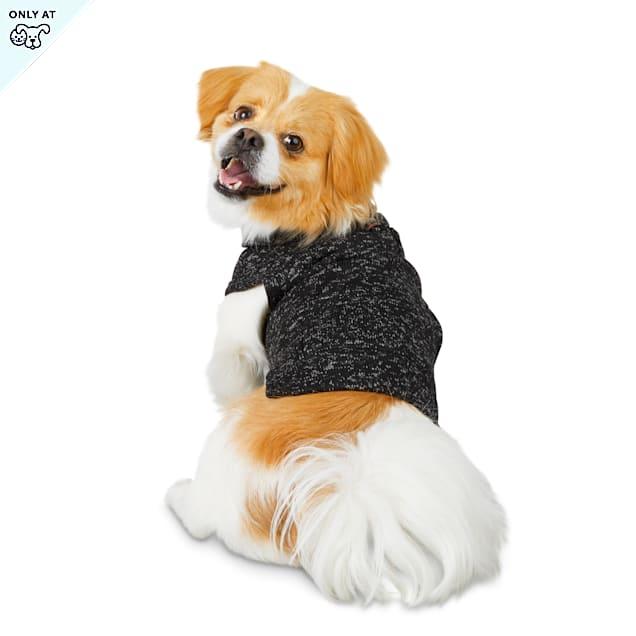 Reddy Grey Turtleneck Dog Sweater, Large - Carousel image #1