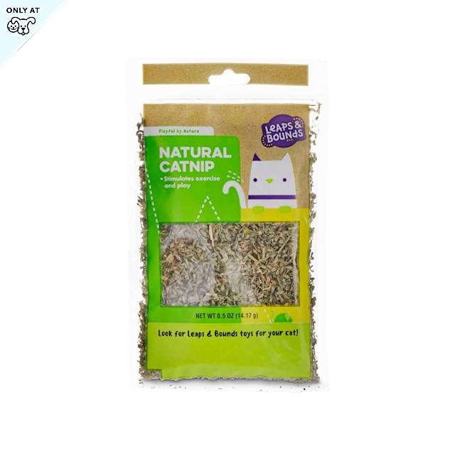 Leaps & Bounds Playful by Nature Natural Catnip Cat Toy, X-Small - Carousel image #1