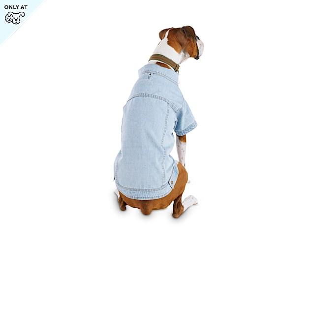 Reddy Blue Washed Denim Dog Jacket, XX-Large - Carousel image #1