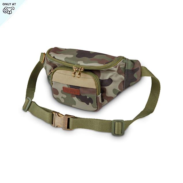 Reddy Camo Canvas Belt Bag, Medium - Carousel image #1