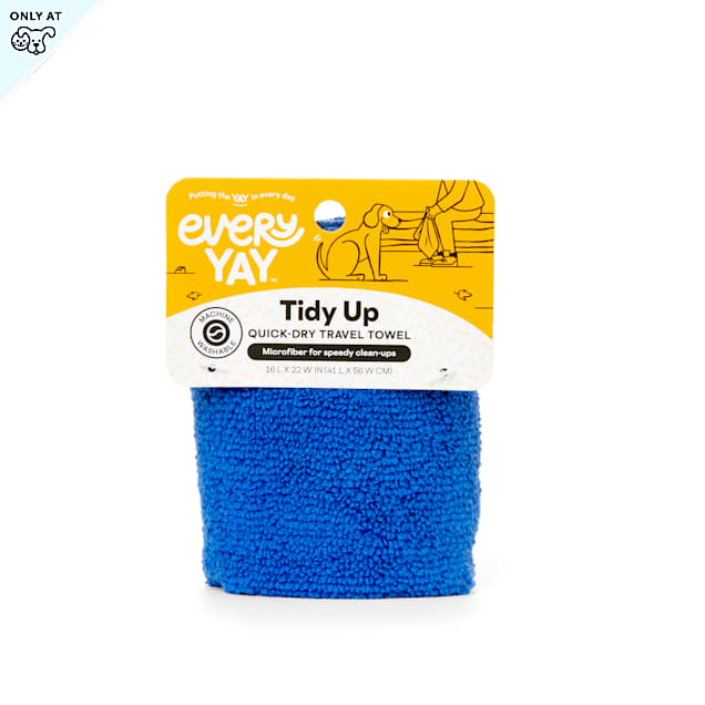 """EveryYay Tidy Up Quick-Dry Travel Towel, 16"""" L X 22"""" W - Carousel image #1"""