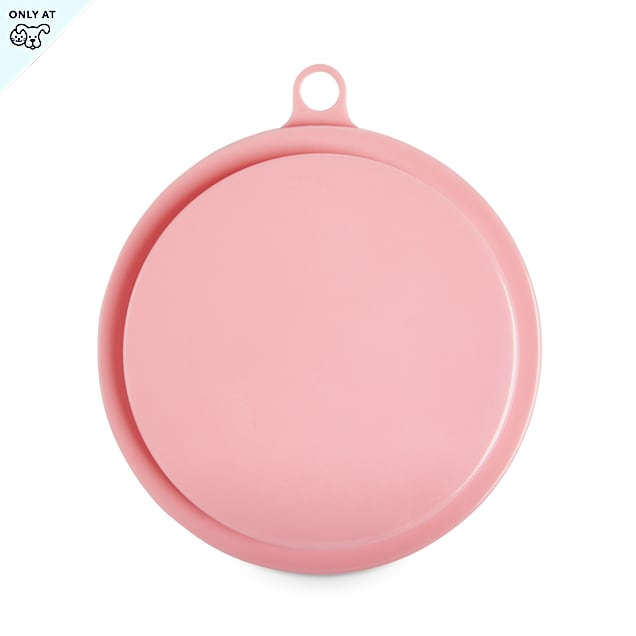 EveryYay Over The Top Mauve Food Can Lids for Pets - Carousel image #1