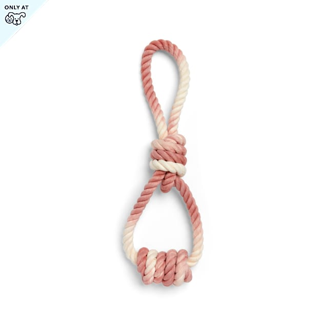 YOULY The Cowboy Dip-Dye Rope Dog Toy in Various Styles, Large - Carousel image #1
