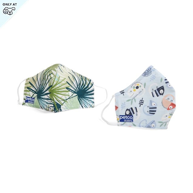Petco Jungle Pawty Face Masks, Pack of 2 - Carousel image #1