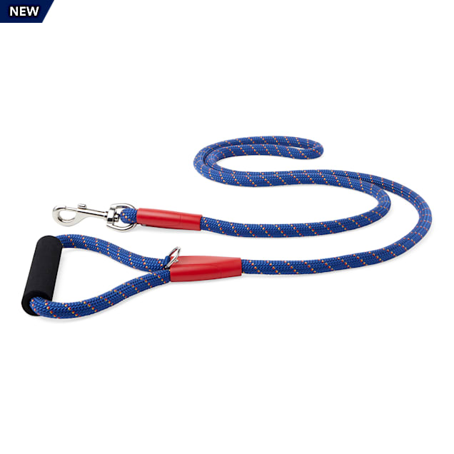 YOULY The Adventurer Navy & Red Dog Leash, 6 ft. - Carousel image #1