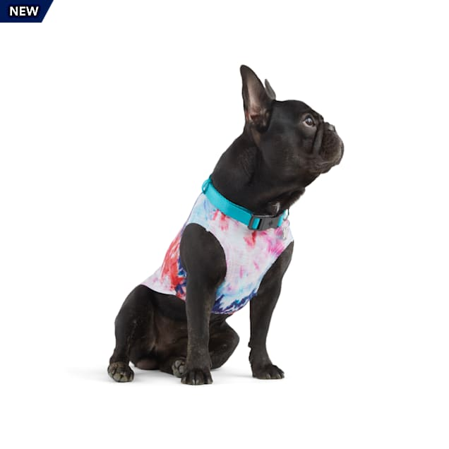YOULY The Happy-Go-Lucky Tie-Dye Dog Tank, X-Small - Carousel image #1