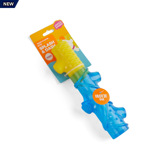 Leaps & Bounds Splash & Dash Floating & Freezeable Water Dog Stick Toy, Small - Carousel image #1