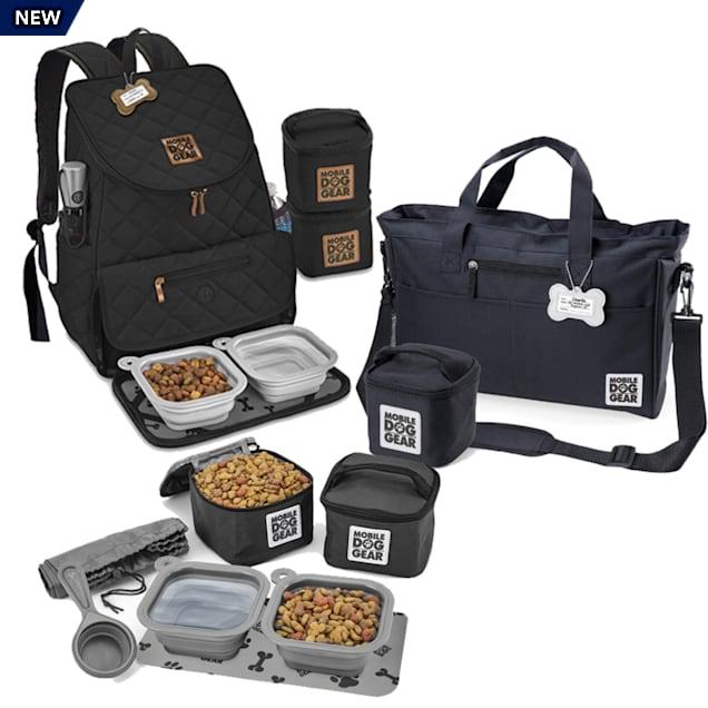 Mobile Dog Gear Bundle Black Tote Bag, Dine Away and Weekender Backpack - Carousel image #1