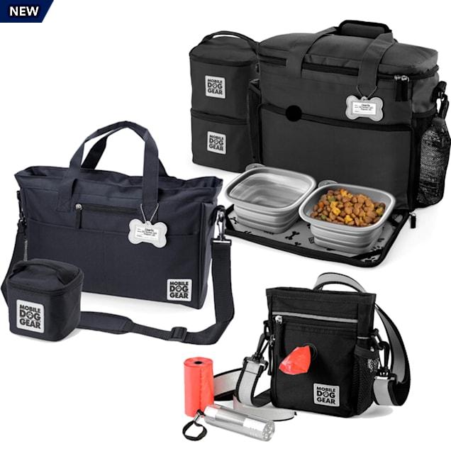 Mobile Dog Gear Black Bundle Day/Night Tote, Week Away Bag, Medium/Large - Carousel image #1
