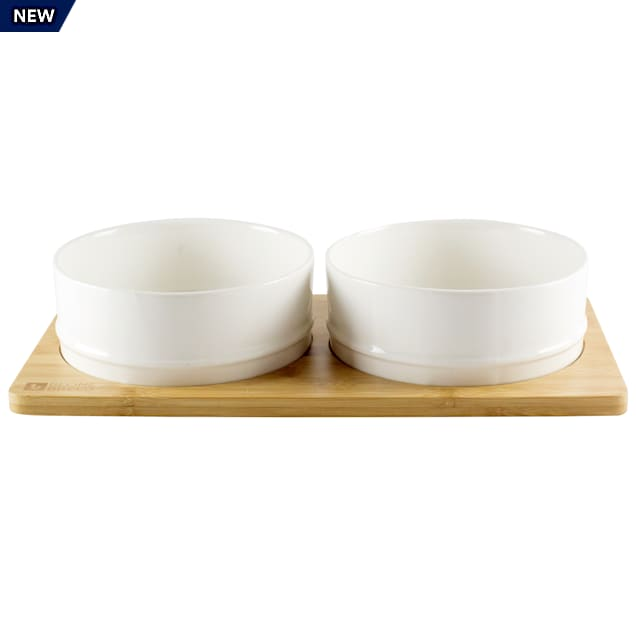 Be One Breed Bamboo Ceramic Pet Bowl, 1 Cup - Carousel image #1