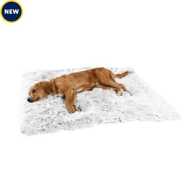 "Best Friends by Sheri Frost Calming Shag Fur Blanket for Pets, 30"" L X 40"" W - Carousel image #1"