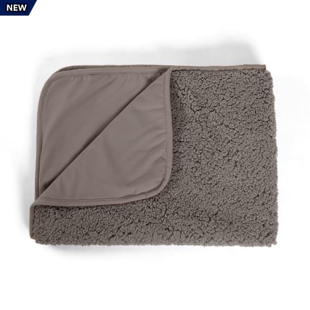 "Best Friends by Sheri Gray Self Warming Sherpa Blanket for Pets, 30"" L X 40"" W - Carousel image #1"