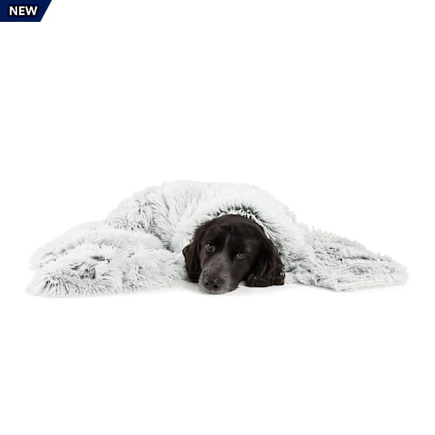 """Best Friends by Sheri Frost Calming Shag Blanket for Pets, 40"""" L X 50"""" W - Carousel image #1"""