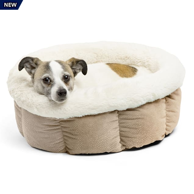 """Best Friends by Sheri Standard Wheat Ilan Cuddle Cup for Dogs, 17"""" L X 17"""" W - Carousel image #1"""