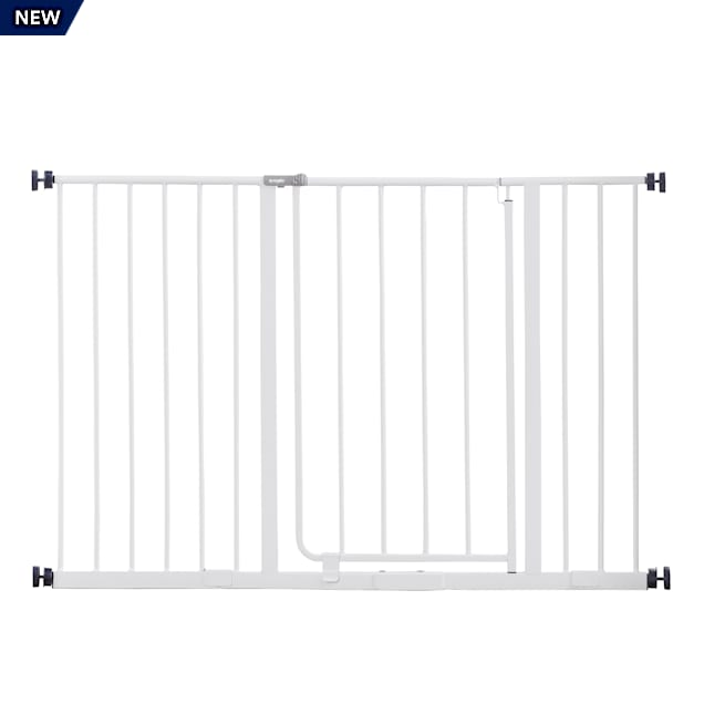 """Regalo Easy Open Extra Wide Metal Pet Gate, 2"""" L X 47"""" W X 30"""" H - Carousel image #1"""