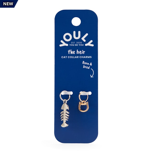 YOULY The Heir Cat Collar Charm Set, Pack of 2 - Carousel image #1