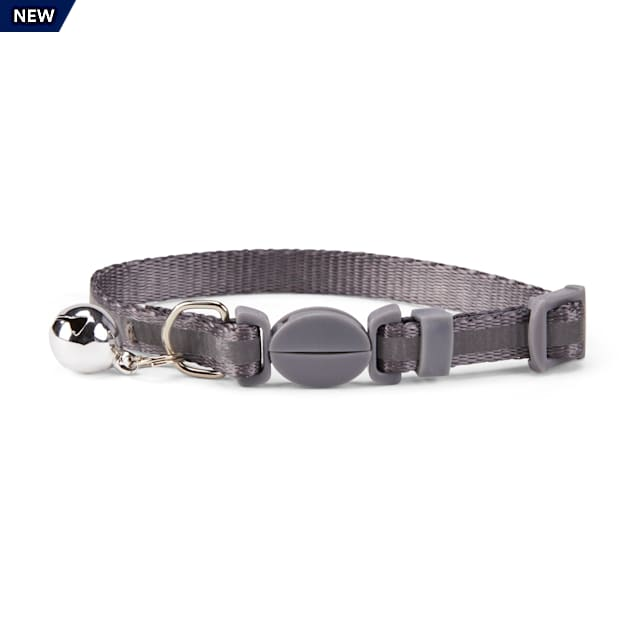 YOULY The Protector Reflective Striped Breakaway Kitten Collar - Carousel image #1