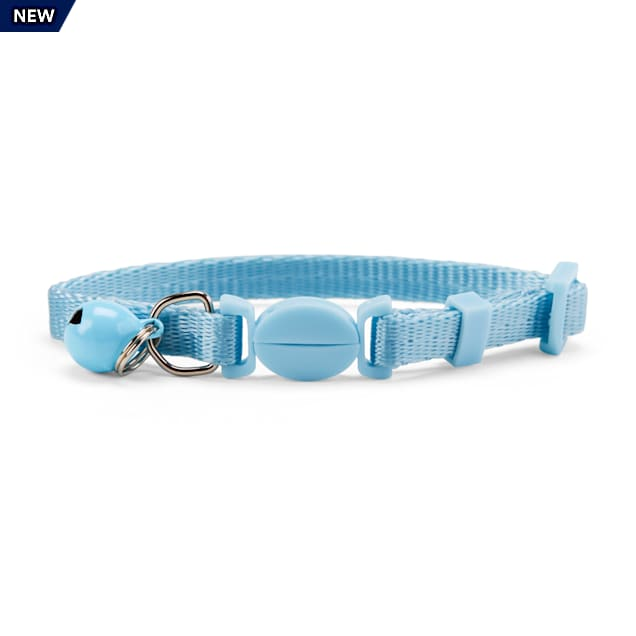 YOULY The Classic Baby Blue Breakaway Kitten Collar - Carousel image #1