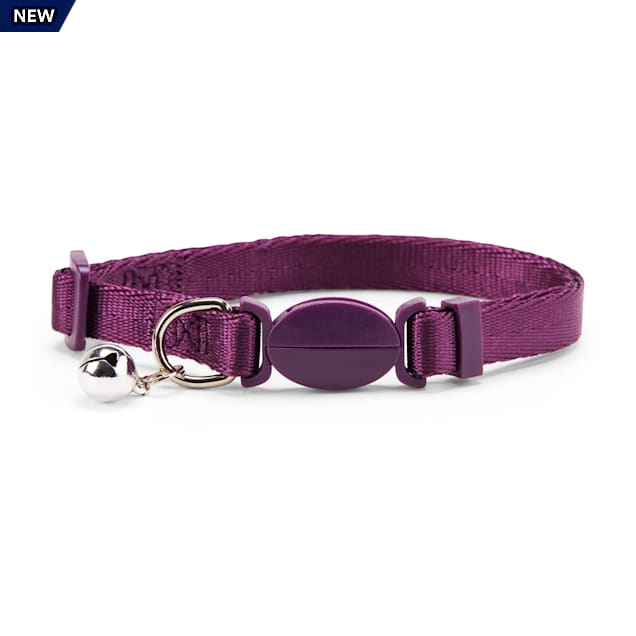 YOULY The Classic Purple Breakaway Large Cat Collar - Carousel image #1