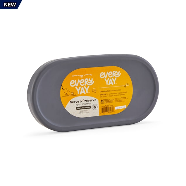 EveryYay Serve & Preserve Cat Food Storage Container, 16.9 Cups - Carousel image #1