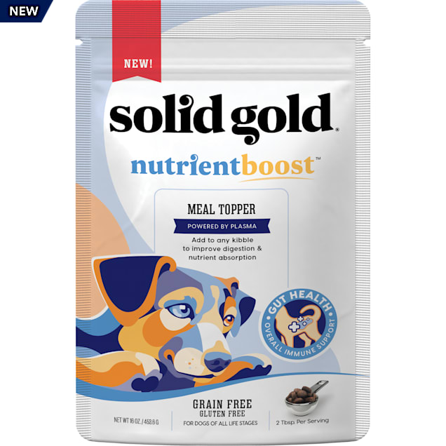 Solid Gold Plasma NutrientBoost Meal Topper Dry Dog Food, 16 oz. - Carousel image #1