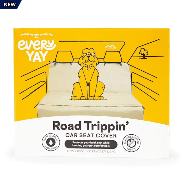 EveryYay Road Trippin' Khaki Car Seat Cover - Carousel image #1